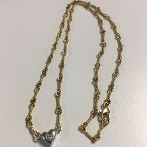 18k Art Deco Style Diamond Necklace